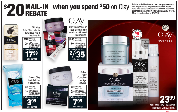 picture regarding Cvs Printable Coupons titled Olay Printable Coupon codes Incredibly hot Olay CVS Specials