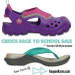 Crocs-Back-To-School-Sale