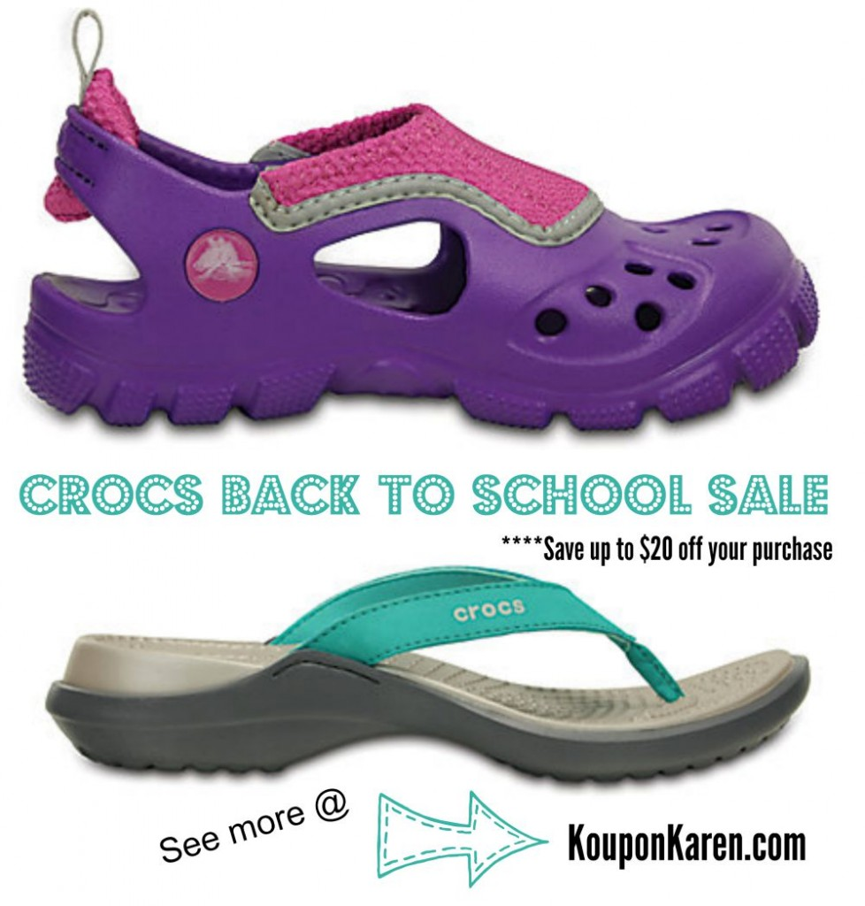 Crocs-Back-To-School-Sale