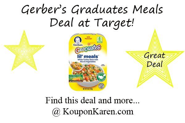 Gerber Graduates Meals