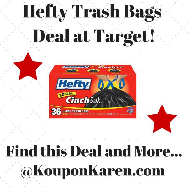 Hefty Trash Bags