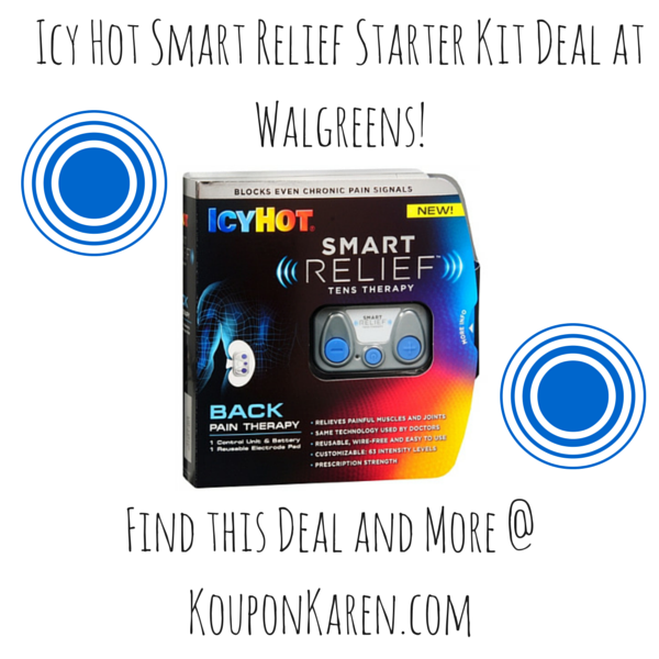 Icy Hot Smart Relief Starter Kit