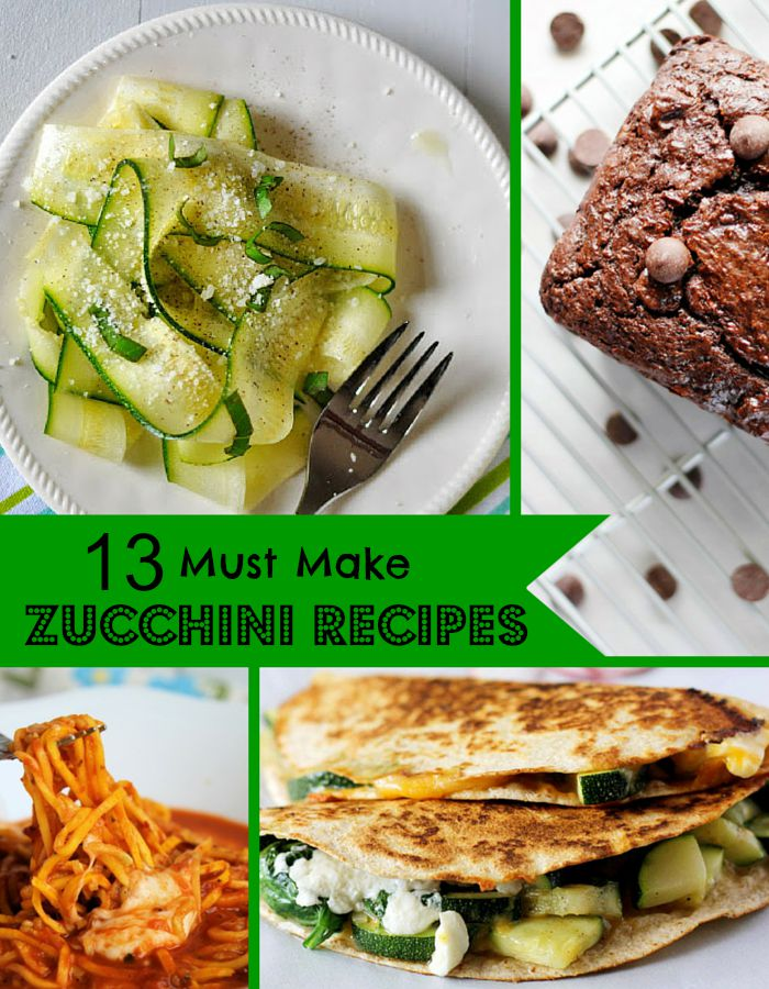 Must-Make-Zucchini-Recipes