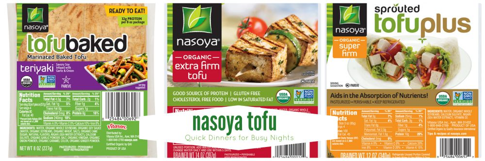 Nasoya-tofu