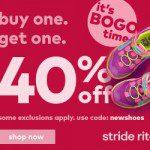 Stride Rite Back To School Sale