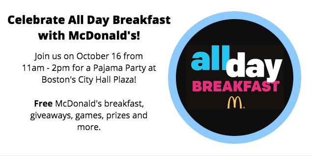 Celebrate All Day Breakfast