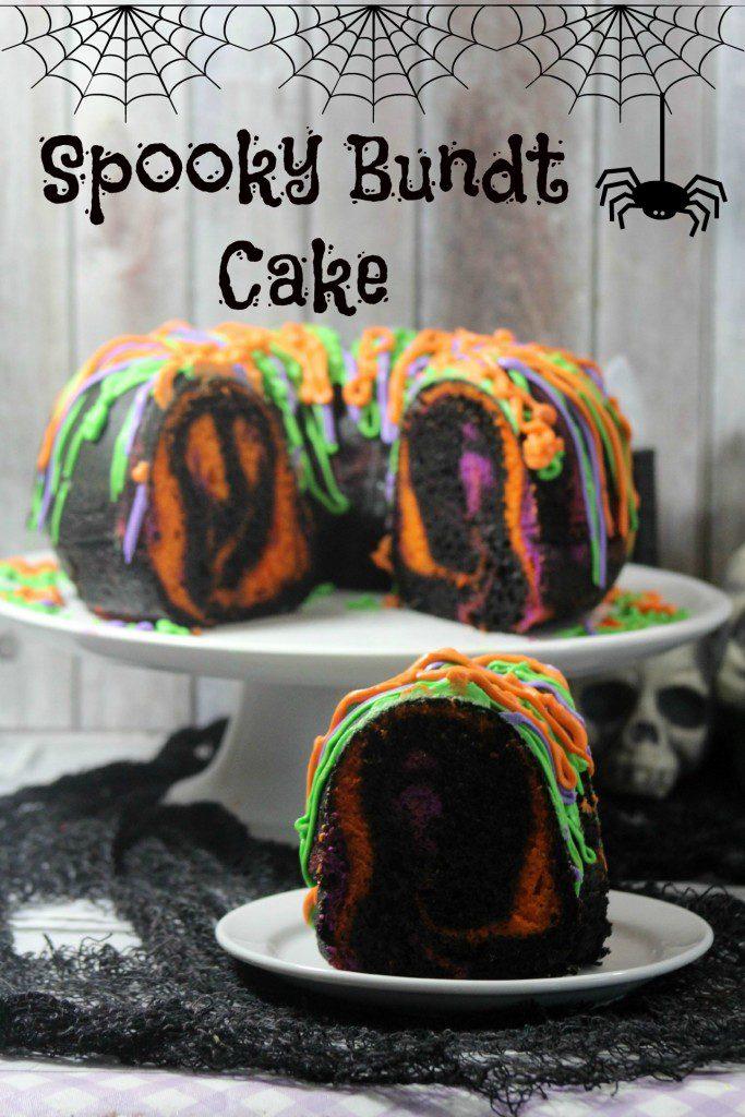 Spooky Bundt Cake Recipe