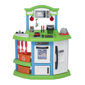 HGG 15 American Plastic Toys Cozy Comforts Kitchen