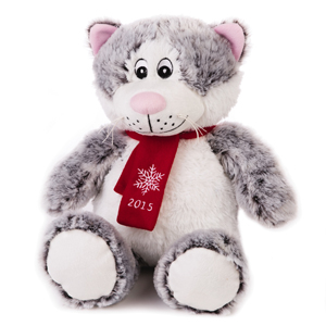 Brand: LUV-A-PET PB  Description: 2015 LUCKY PLUSH CAT  SKU: 5238194,   Group: Hardgoods   Buyer: Gloria Wray   WCA: Kellie Gonzalez