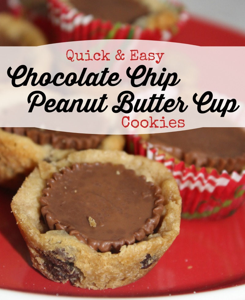 Chocolate Chip Peanut Butter Cup Cookie Recipe