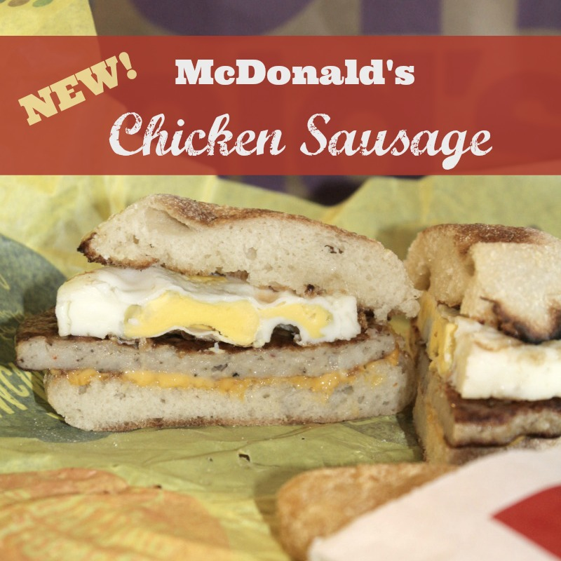 McDonald's Chicken Sausage
