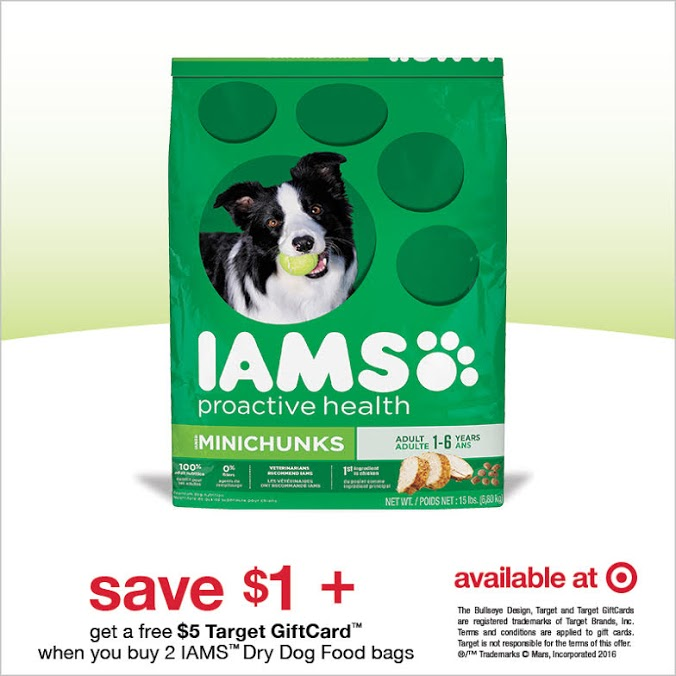 Save on IAMS at Target