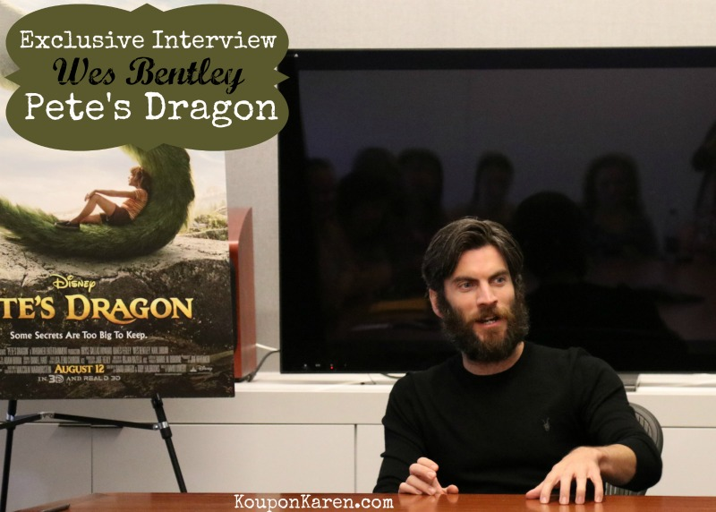 Wes Bentley from Pete's Dragon