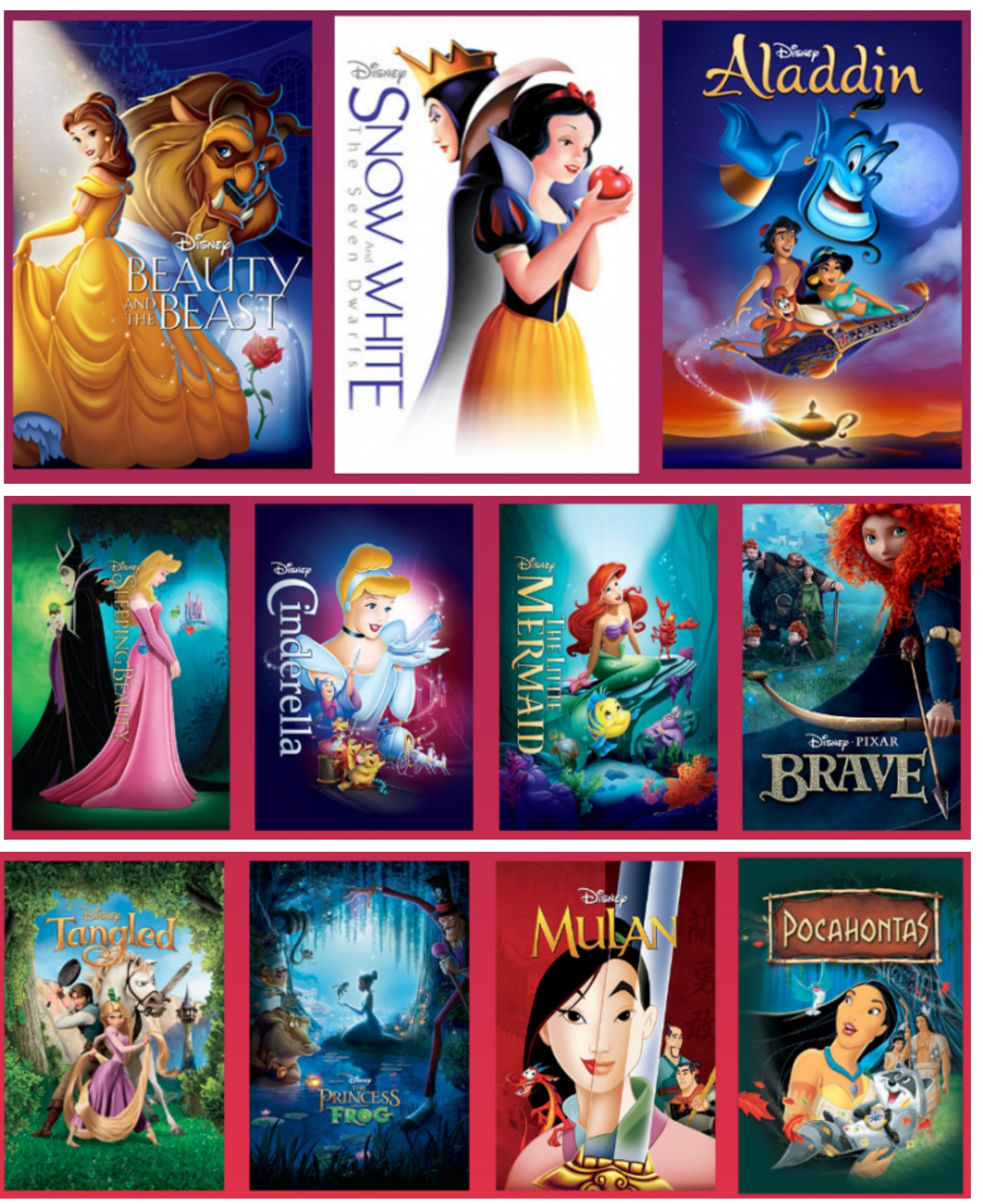 Disney Princess Fans : All the Princess Movies are Coming ...