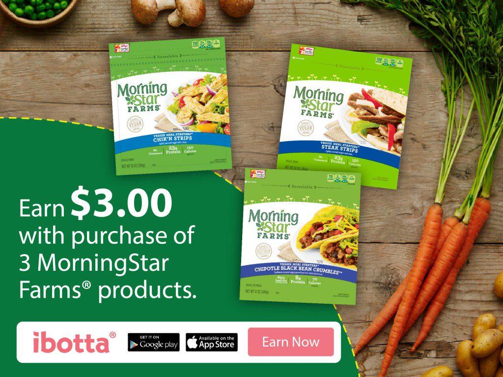 MorningStar Farms® Ibotta Deal