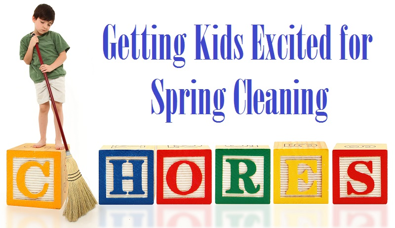 Getting Kids Excited for Spring Cleaning