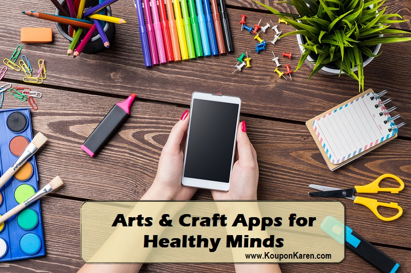 Arts and Crafts Apps for Healthy Minds