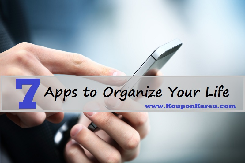 7 Apps To Orgainze Your Life