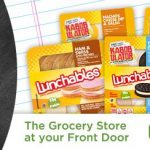 Back To School with Grocery Delivery from Peapod