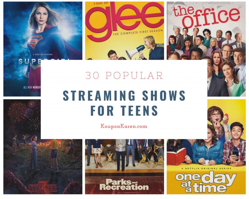 Streaming Shows for Teens