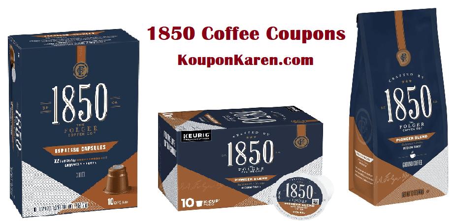 1850 Coffee Printable Coupons
