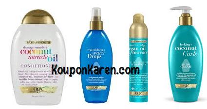 OGX® Hair Product Printable Coupons